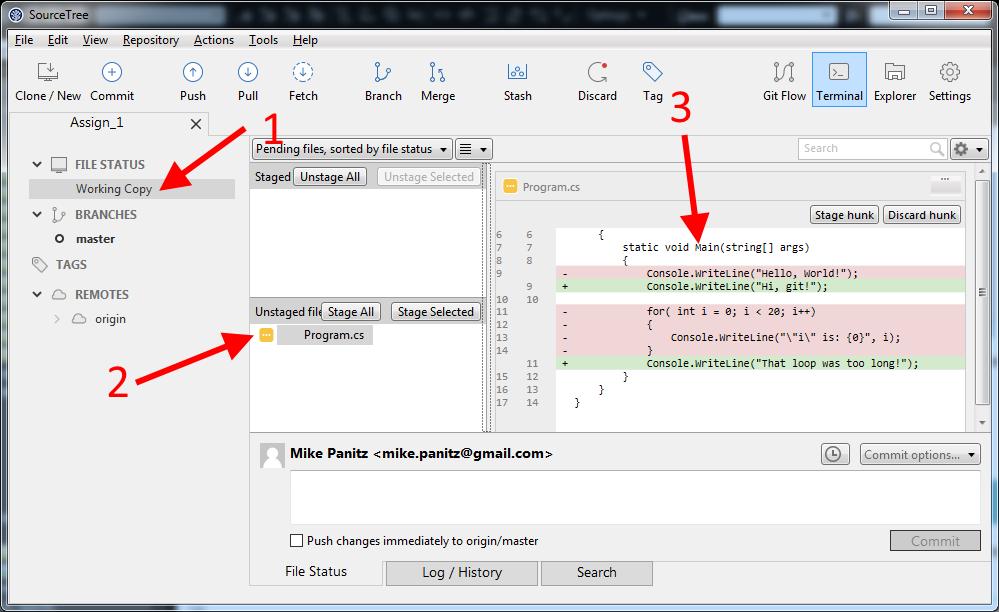 Gitlab Sourcetree